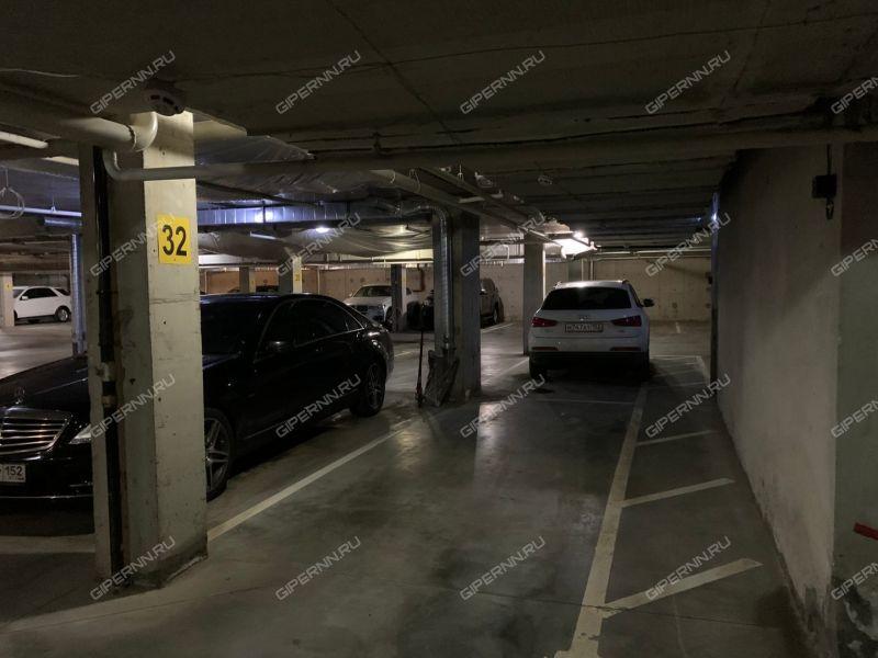 парковочное место на улице Ванеева