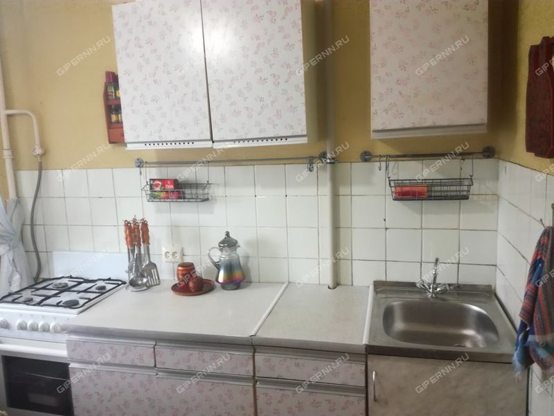 однокомнатная квартира на улице Октябрьская дом 58А город Дзержинск