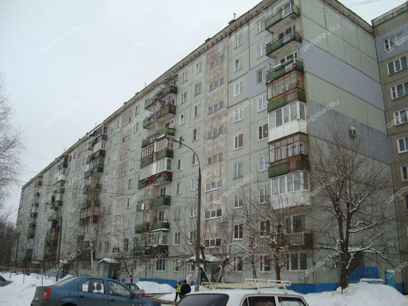 двухкомнатная квартира на улице Голубева дом 3 к1
