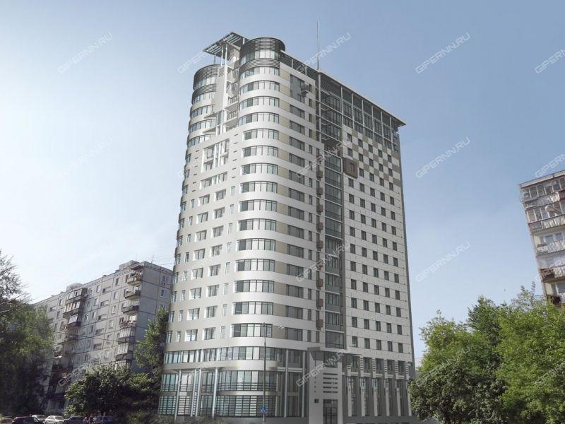 четырёхкомнатная квартира в новостройке на пересечении улиц Ковалихинская - Семашко, ЖК Командор