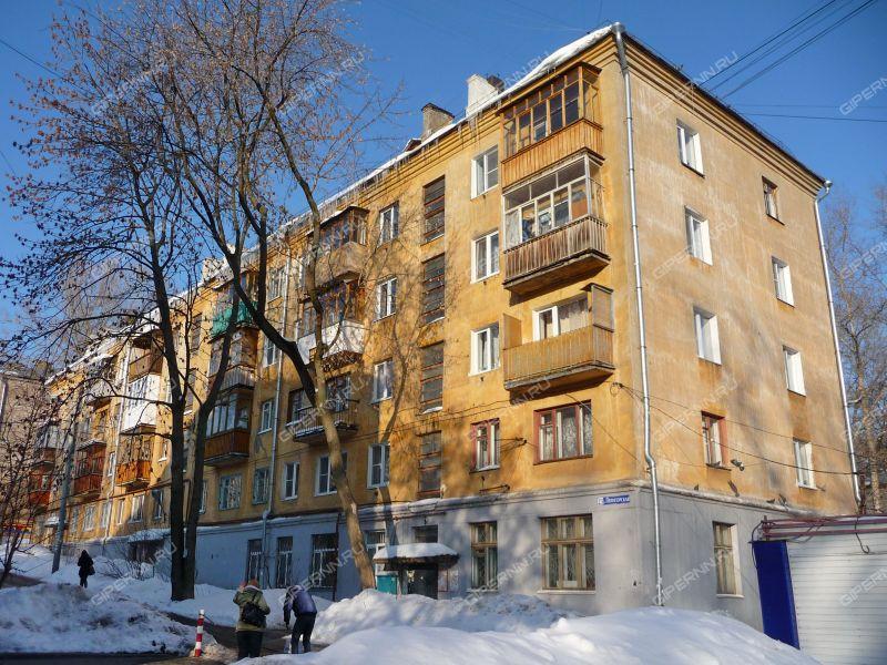 двухкомнатная квартира на улице Пятигорская дом 23