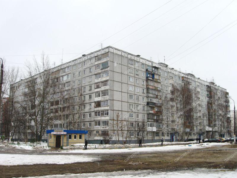 двухкомнатная квартира на улице Политбойцов дом 10