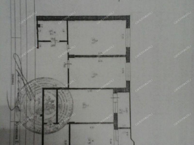 однокомнатная квартира на улице Луначарского дом 208 город Бор
