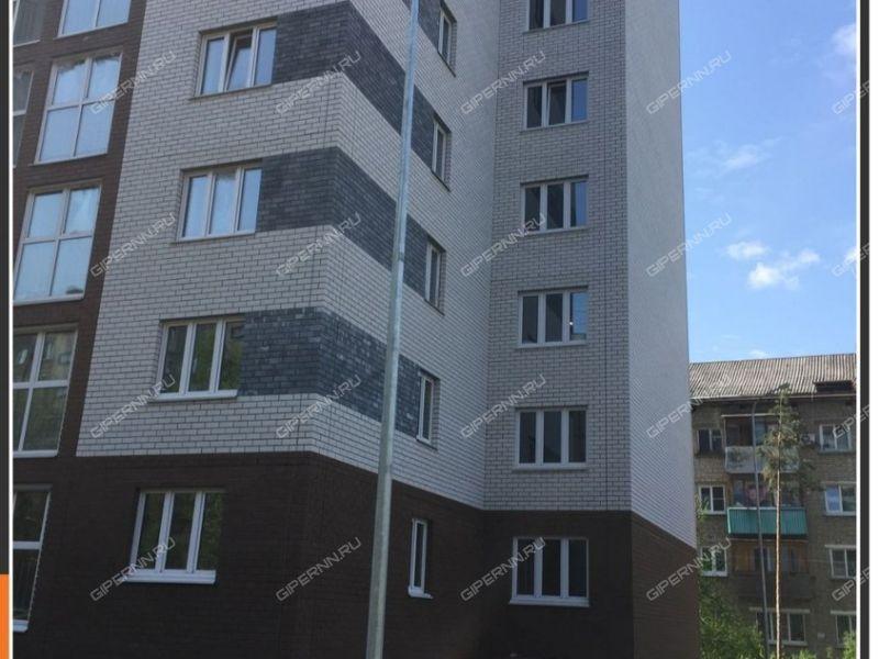 двухкомнатная квартира в новостройке на улице Василия Иванова